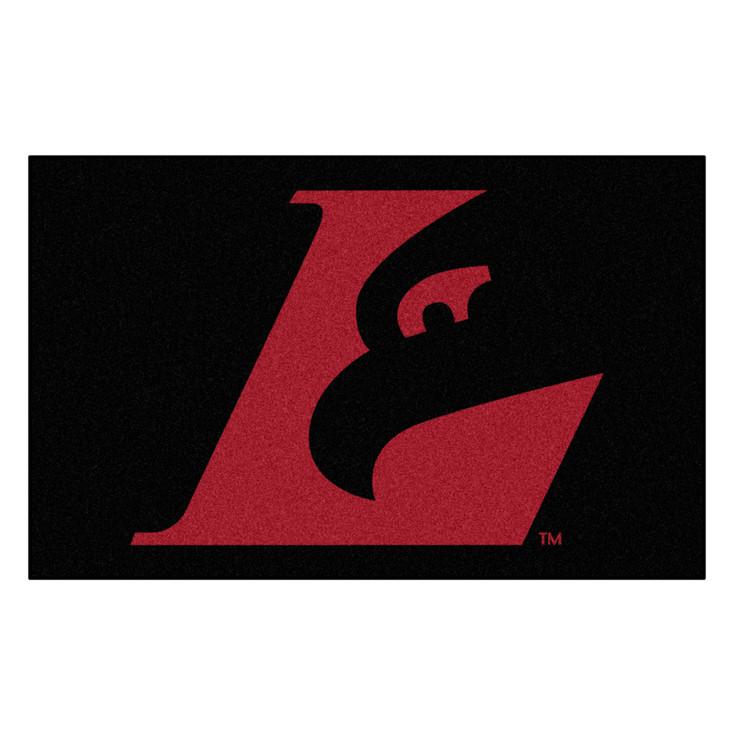 "59.5"" x 94.5"" University of Wisconsin-La Crosse Gray Rectangle Ulti Mat"