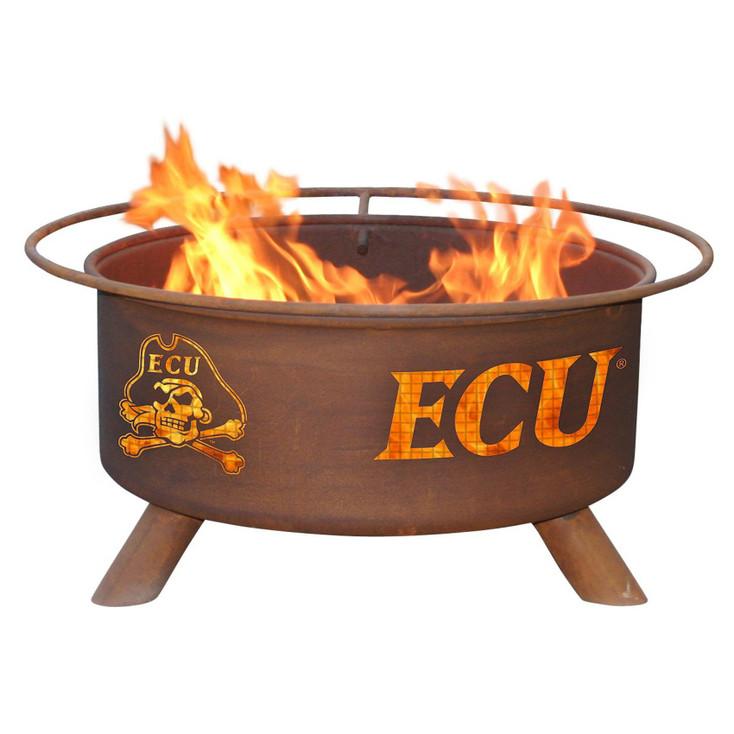 East Carolina University Pirates Metal Fire Pit