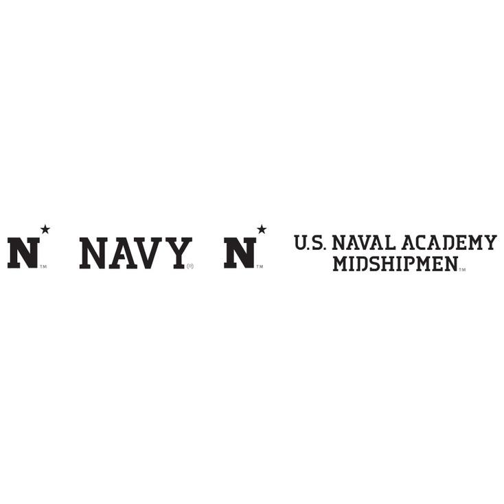 U.S. Naval Academy Midshipmen Metal Fire Pit Strip Details