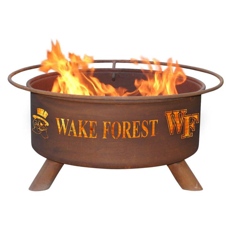 Wake Forest University Demon Deacons Metal Fire Pit