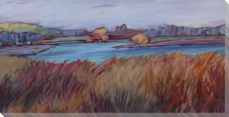 Autumn Bog Wrapped Canvas Giclee Print Wall Art