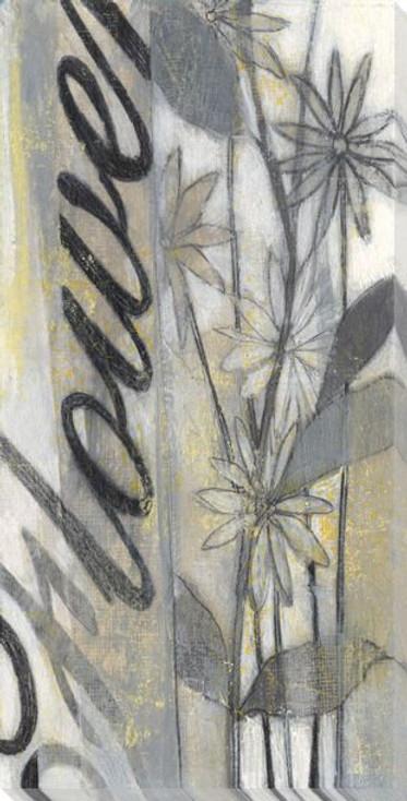 Beautiful Flowers I Wrapped Canvas Giclee Print Wall Art