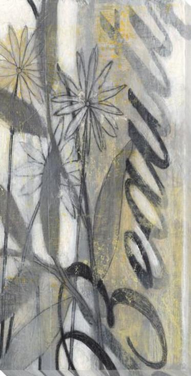 Beautiful Flowers II Wrapped Canvas Giclee Print Wall Art