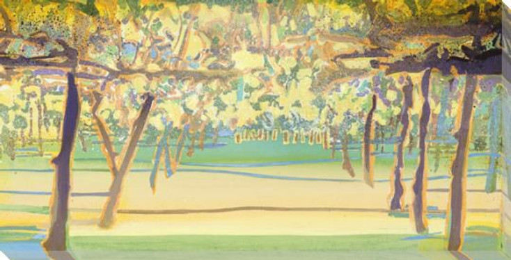 Beneath the Grove Wrapped Canvas Giclee Print Wall Art