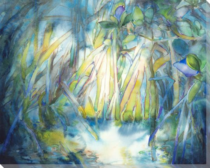 Mangrove Wrapped Canvas Giclee Print Wall Art