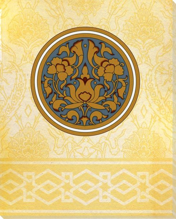 Moroccan Medallions 4 Wrapped Canvas Giclee Art Print Wall Art