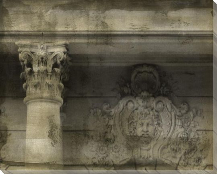 Ornate Architecture II Wrapped Canvas Giclee Art Print Wall Art