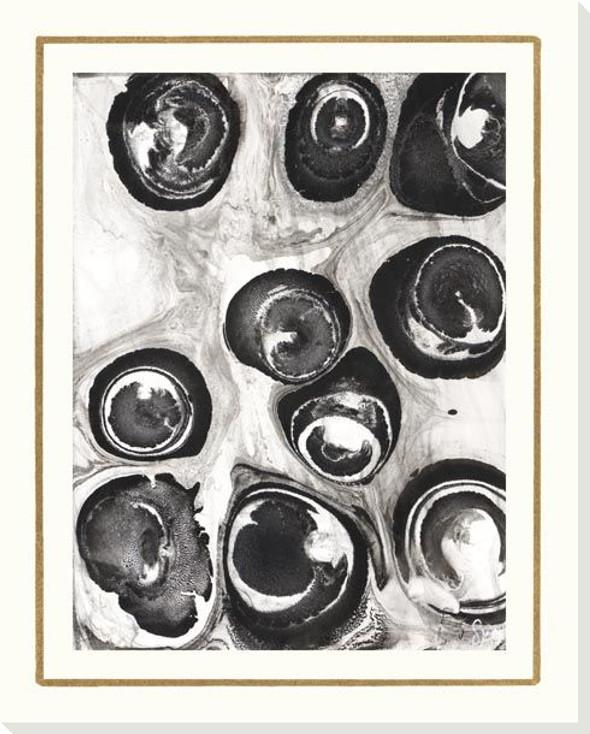 B & W Form VI Wrapped Canvas Giclee Art Print Wall Art