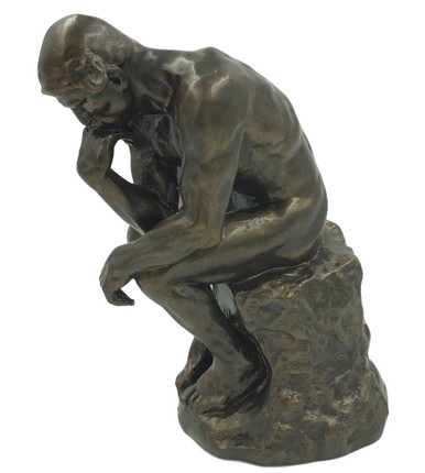 Large The Thinker Statue By Auguste Rodin Museum Art
