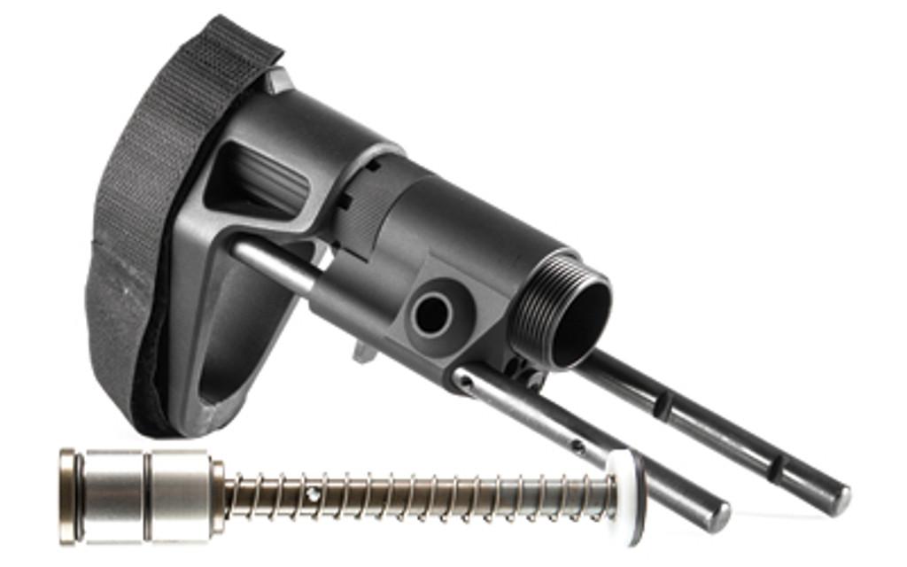 Maxim Defense CQB PISTOL PDW Brace For AR15 - Gen 2 JP Silent Capture Standard Buffer & Spring