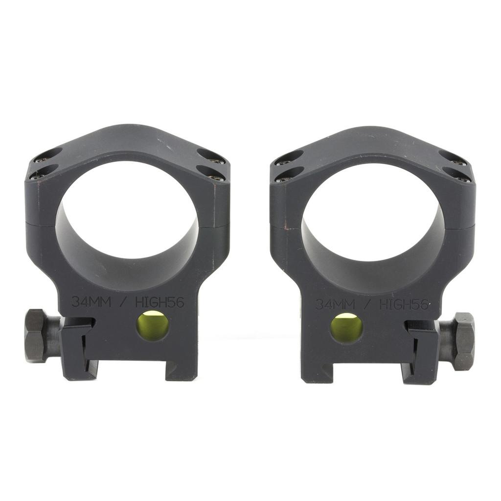Accu-Tac Scope Rings 34mm - Black
