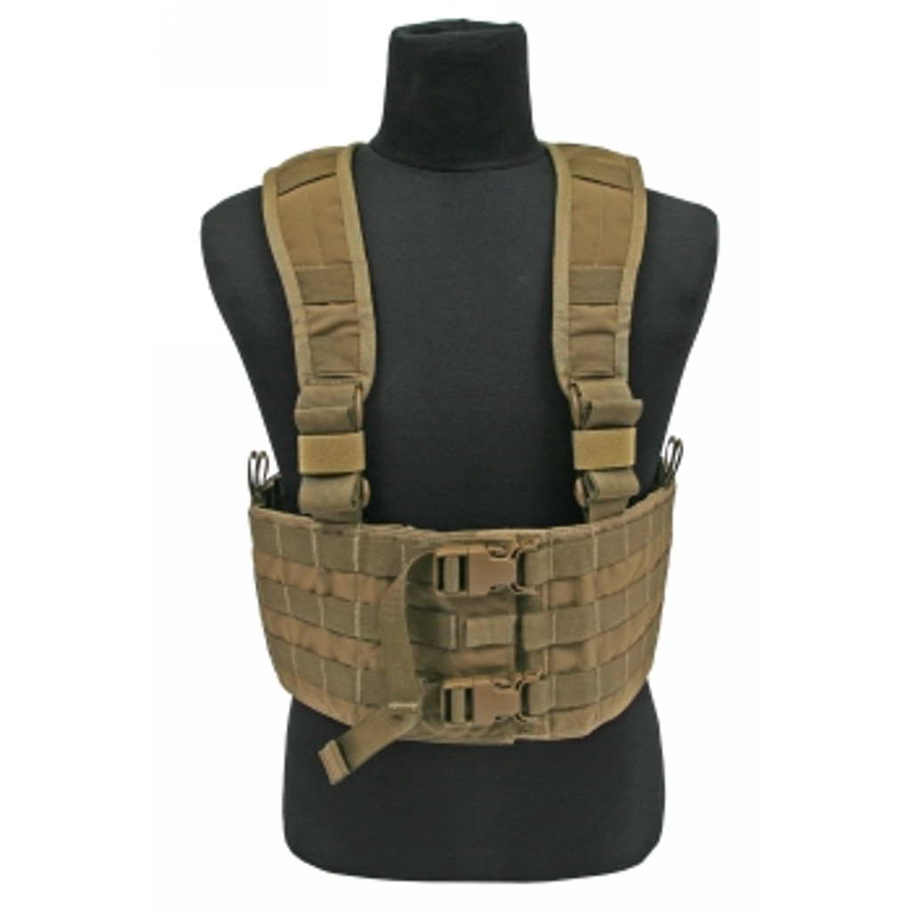Tactical Tailor Rudder RAC H-Harness - Coyote Brown - ROG Tactical