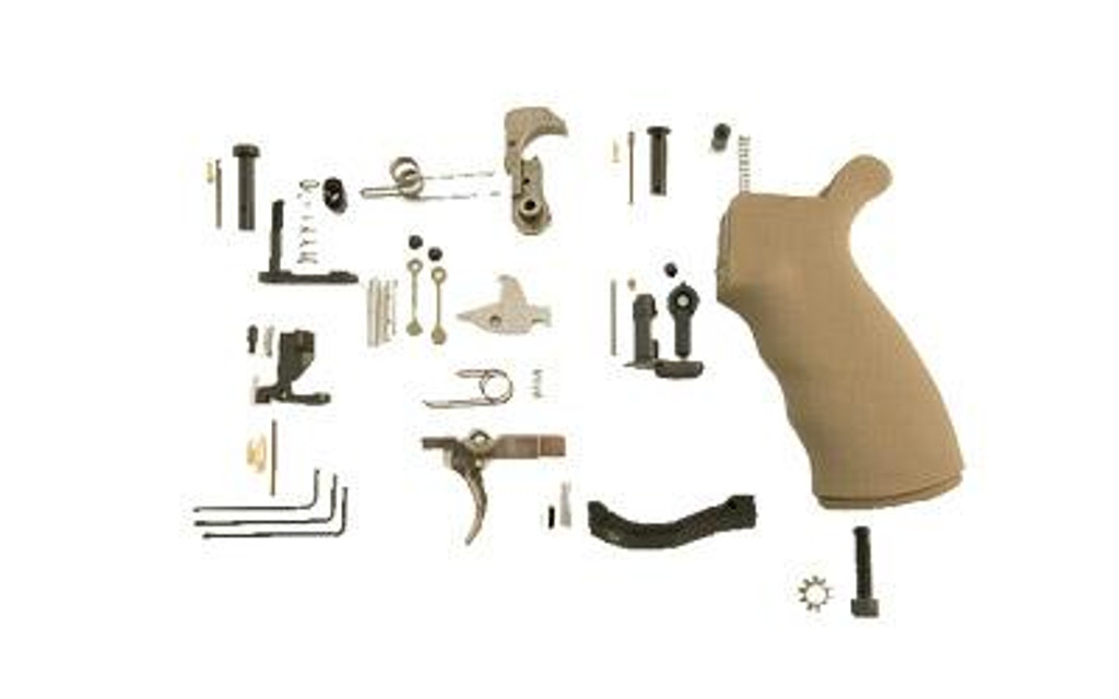 Spike's Tactical Enhanced Lower Parts Kit - FDE