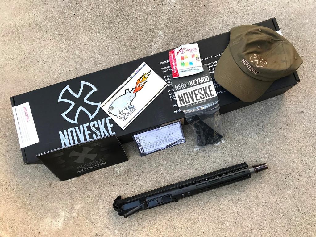 "Noveske 10.5"" Gen 3 300BLK Complete  Upper, NSR-9, Q Cherry Bomb - 300BLK"