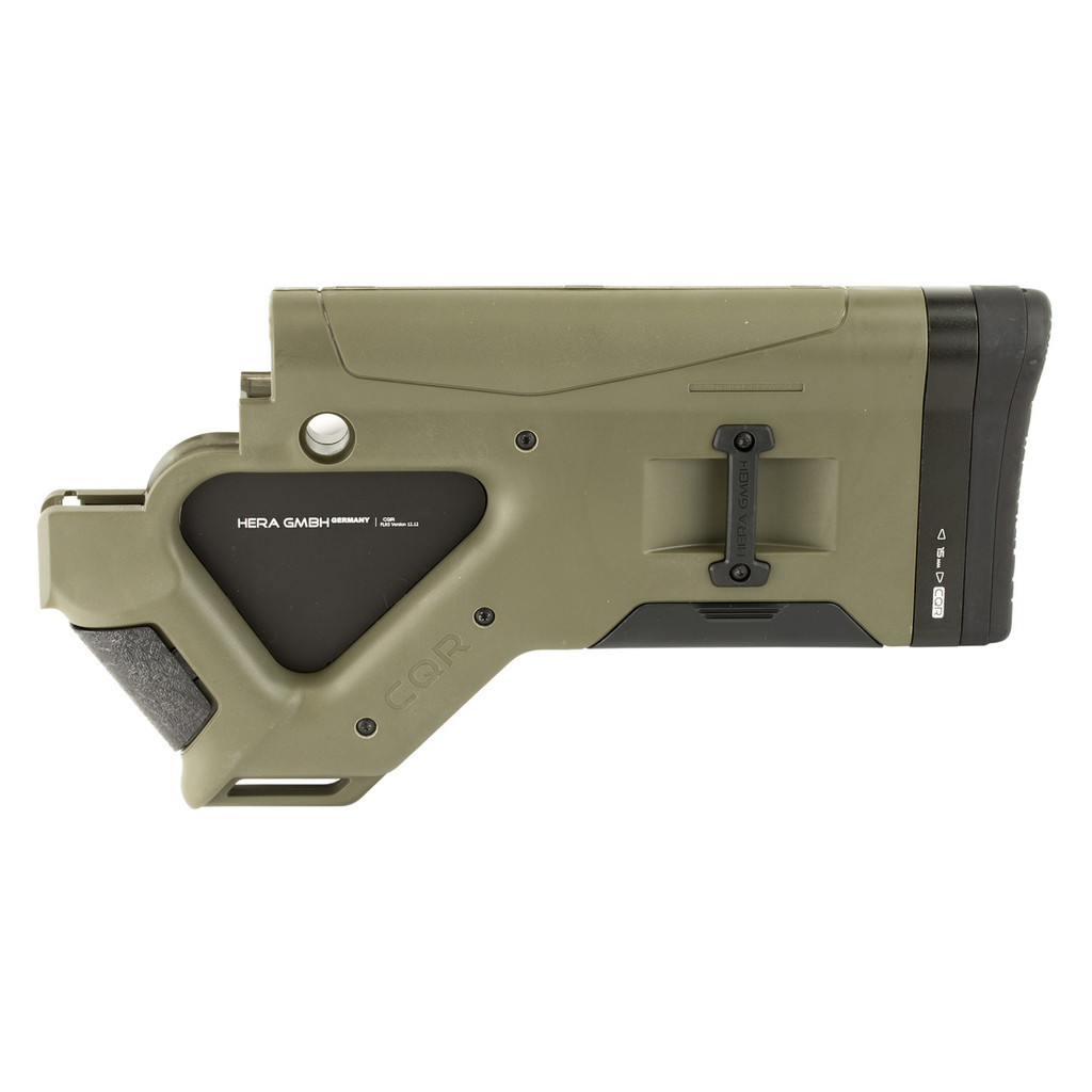 Hera Arms CQR Stock CA-Version (Featureless) - OD Green