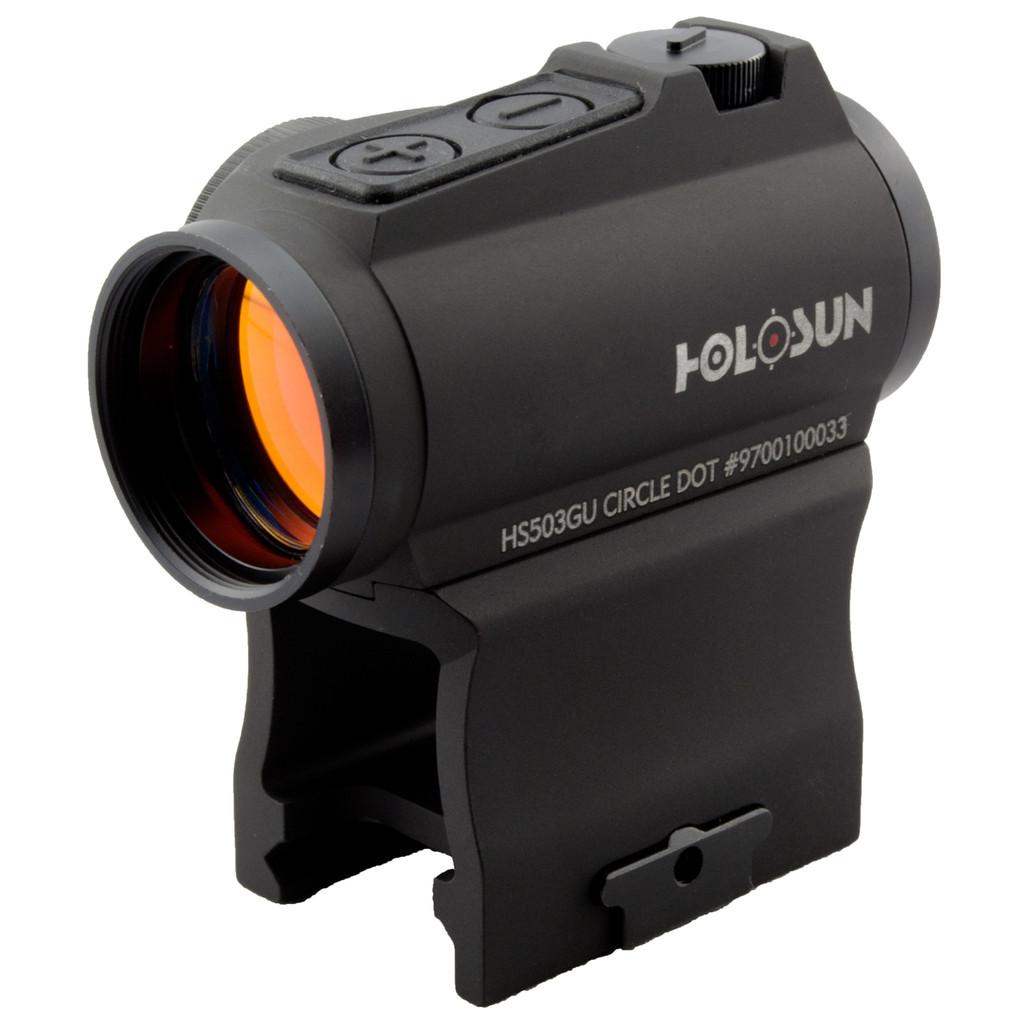 Holosun HS503GU Micro Red Dot Sight, 65 MOA Circle/ 2 MOA Dot