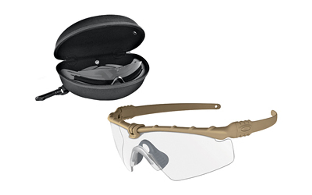 Oakley Standard Issue Ballistic M Frame 3.0 APEL - Dark Bone w/ Grey & Clear Lenses (OO9146-07)
