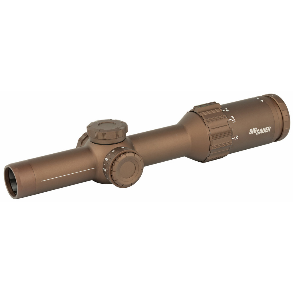 Sig Tango6T 1-6x24mm, FFP, 762 SDMR Extended Range Reticle - FDE