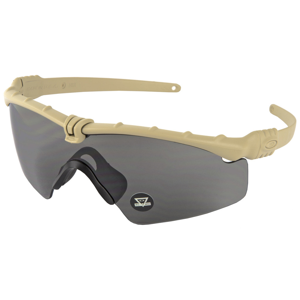 Oakley Standard Issue Ballistic M Frame 3.0 - Dark Bone w/ Grey Lens (OO9146-05)