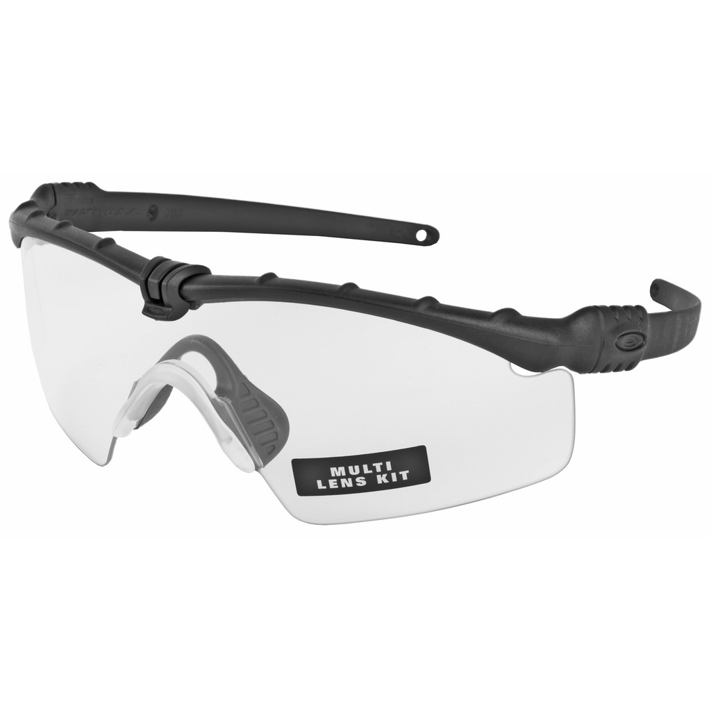 Oakley Standard Issue Ballistic M Frame 3.0 - Black w/ Grey, Clear, and Persimmon Lenses (OO9146-04)