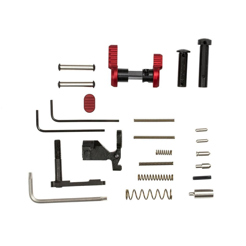 Armaspec Gun Builder's LPK less FCG & Grip for .223/5.56 - Red