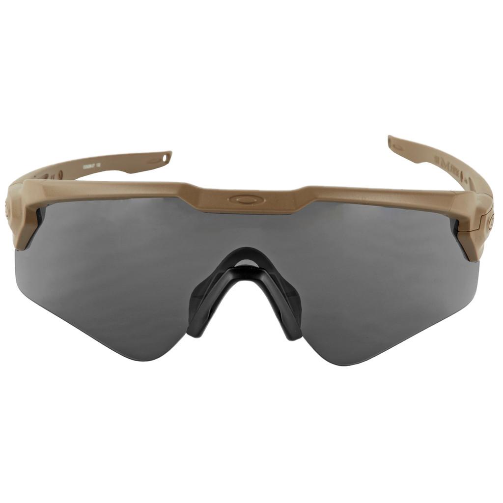 Oakley Standard Issue Ballistic M Frame Alpha  - Terrain Tan w/ Gray Lens (OO9296-06)
