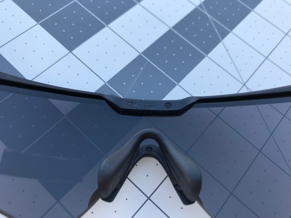 Oakley Standard Issue Ballistic M Frame Alpha  - Black w/ Grey & Clear Lenses (OO9296-05)