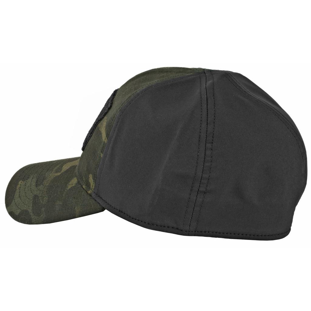 Oakley SI Cotton Stretch Fit Cap (L/XL) - Black Multicam