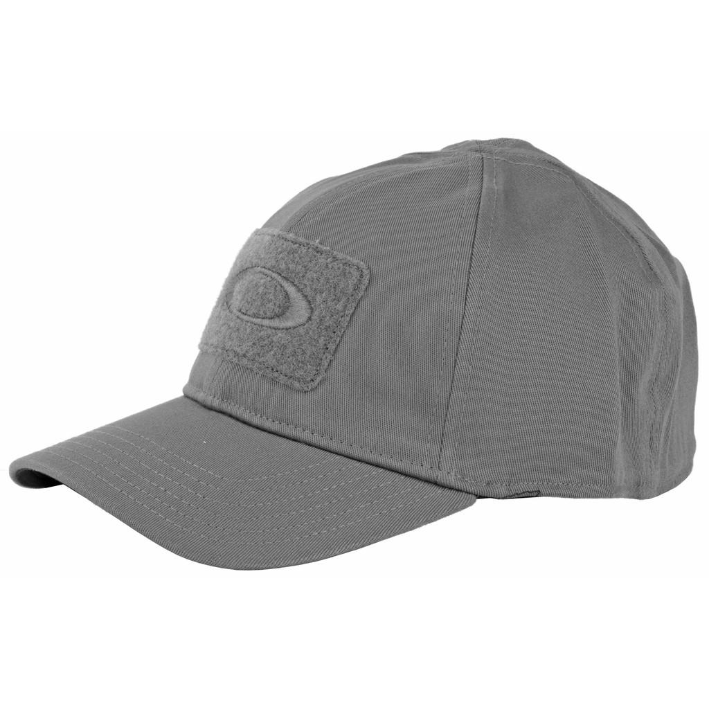 Oakley SI Cotton Stretch Fit Cap (L/XL) - Shadow Gray