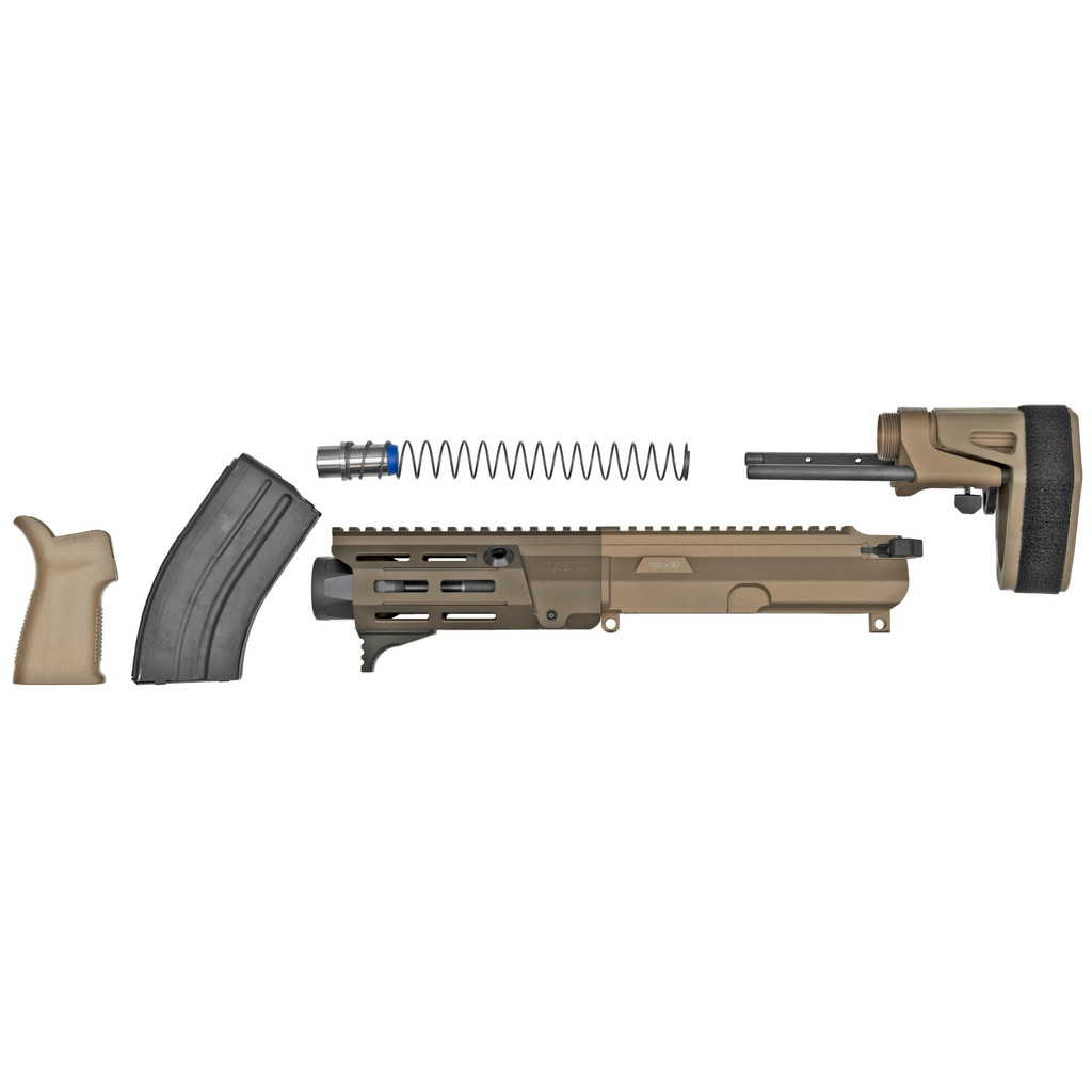 "Maxim Defense PDX U.R.G. Pistol Kit, 7.62X39, 5.5"" Barrel - FDE"