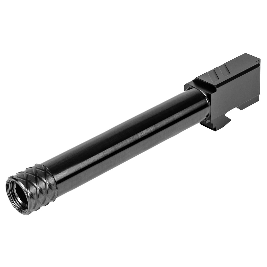 ZEV Pro Match Barrel For G17, GEN1-4, 1/2x28 Threading - DLC (Black)