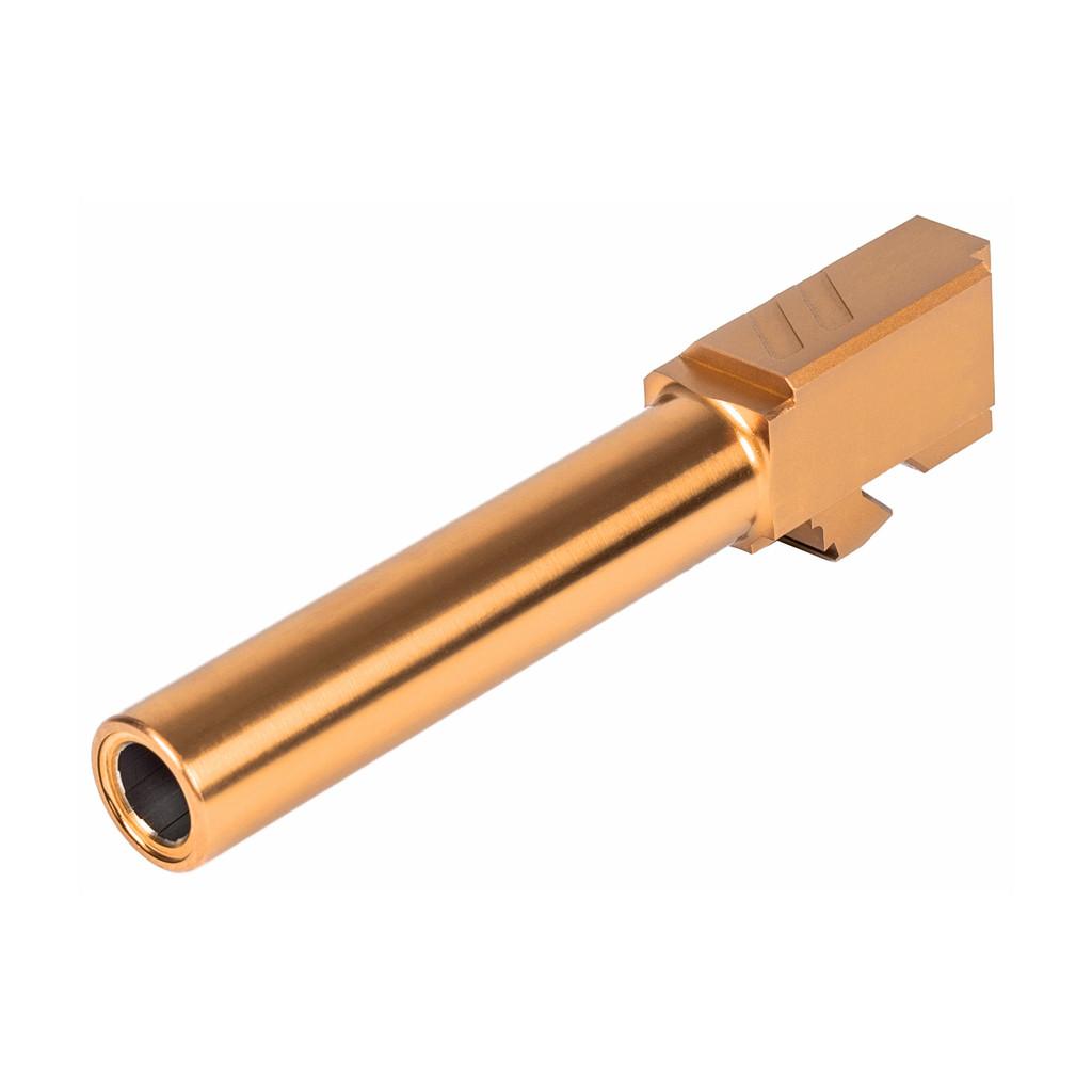 ZEV Pro Match Barrel For G19, GEN1-5 - Gold