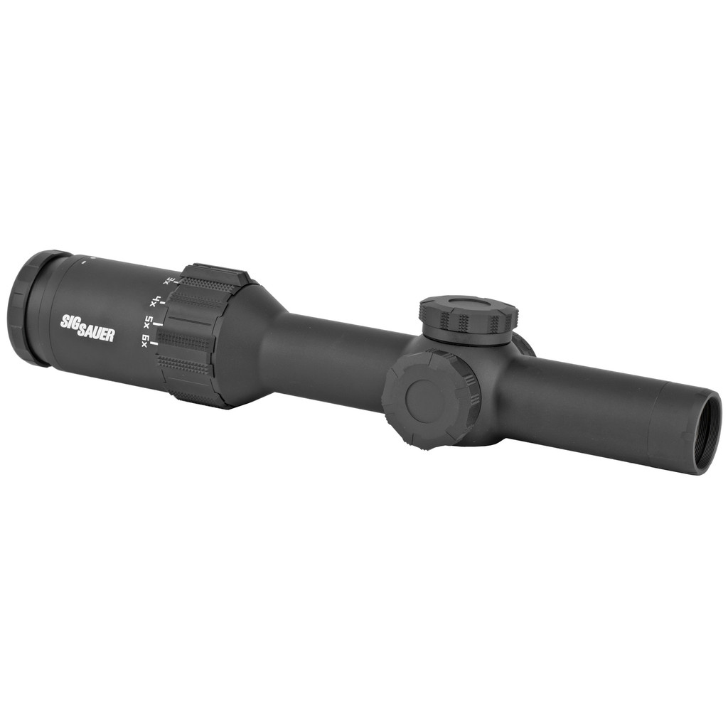 Sig TANGO6T 1-6x24mm, 30mm, FFP, 5.56/7.62 Horseshoe Dot Reticle - Black (SOT61131)