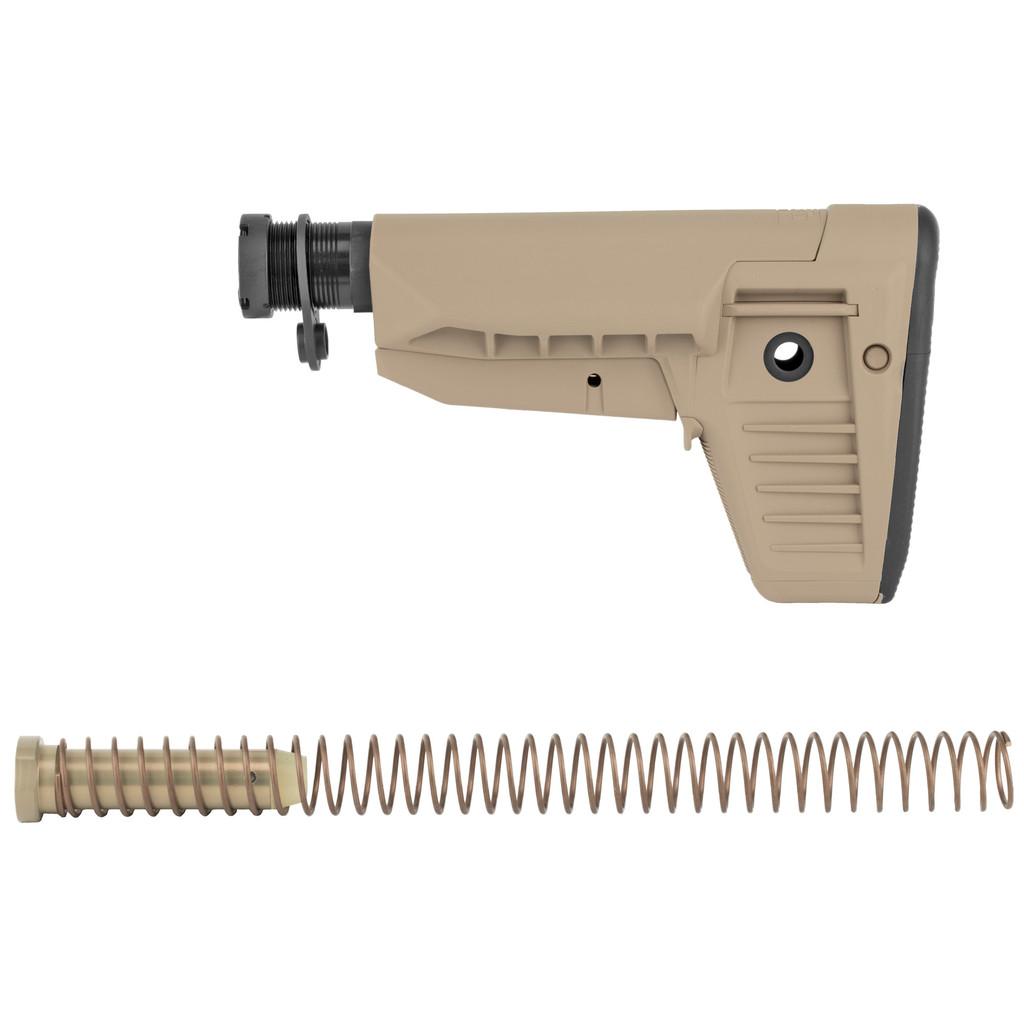 BCM BCMGUNFIGHTER Stock Kit, Mod 1 SOPMOD, Compartment - FDE