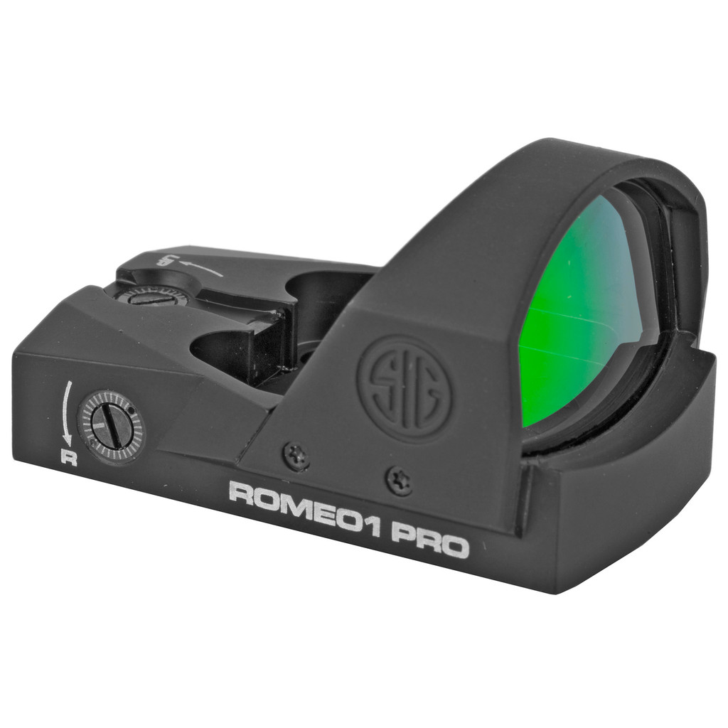 SIG ROMEO1 PRO Reflex Red Dot Sight,  3 MOA Dot - Black