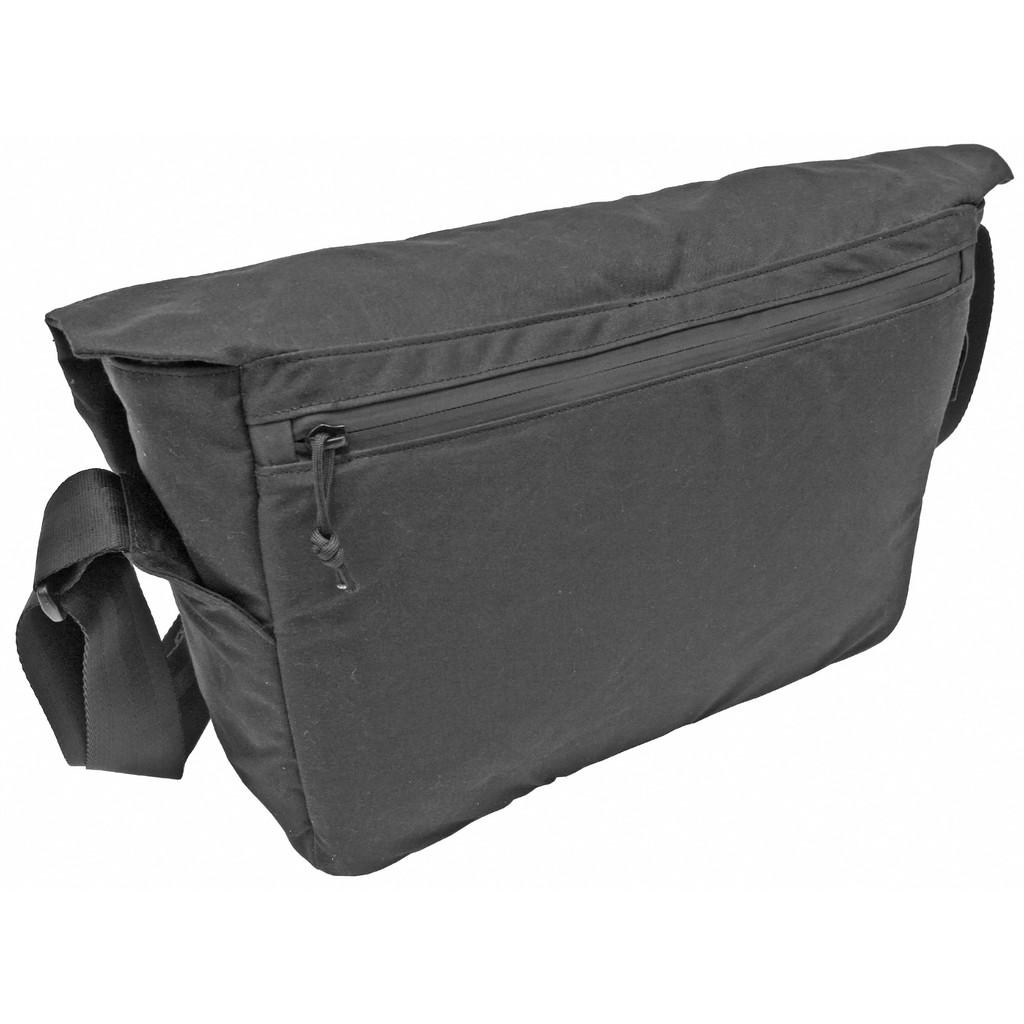 Grey Ghost Gear Wanderer Messenger Bag - Black