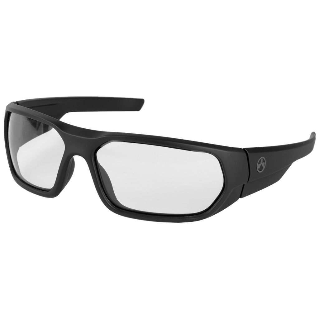 Magpul Radius Ballistic Eyewear - Matte Black w/ Clear Lenses (MAG1042-104)