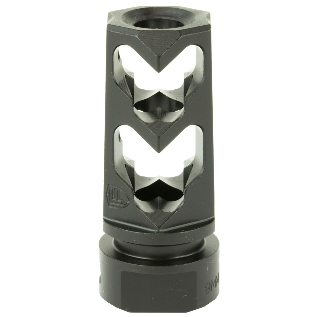 Fortis Muzzle Brake 9mm 1/2x28 BLK