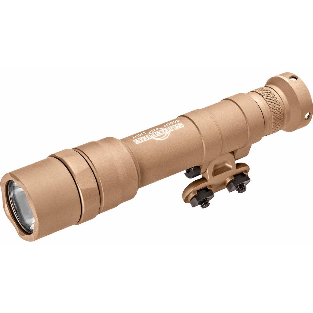 SureFire M640DF Dual Fuel Scout Light Pro LED Weaponlight - Tan (M640DF-TN-PRO)