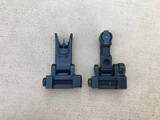 Rainier Arms Backup Iron Sights - Black