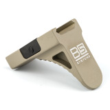B5 GripStop Picatinny Aluminum FDE