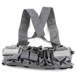 Haley D3CRX Chest Rig - Gray