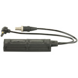 "SureFire Remote Dual Switch, 2 Plug, For Scout Lights And ATPIAL or DBAL Units - 7"" (SR07-D-IT)"