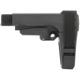 SB Tactical SBA3 AR Pistol Adjustable Brace - Black