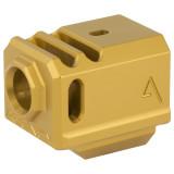 Agency Arms 417 Compensator Gen3 Glock - Gold
