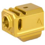 Agency Arms 417 Compensator Gen4 Glock - Gold
