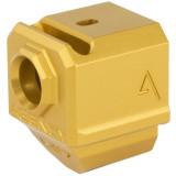 Agency Arms 417 Single Port Comp Gen4 Glock - Gold