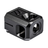 ZEV PRO Compensator V2, 1/2X28 Threading, 9MM - Black