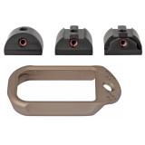 Battle Arms Development Magwell For Glock 17/22/31 - FDE