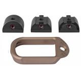 Battle Arms Development Magwell For Glock 19/23/32 - FDE